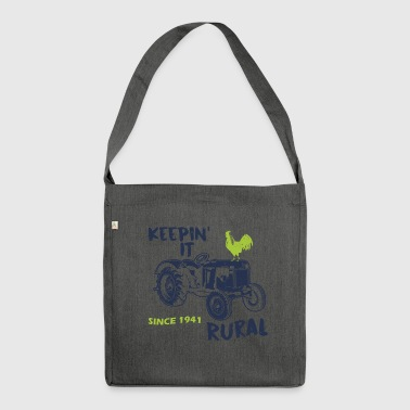 Agriculture sayings - Shoulder Bag made from recycled material