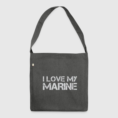 MARINE - Schultertasche aus Recycling-Material
