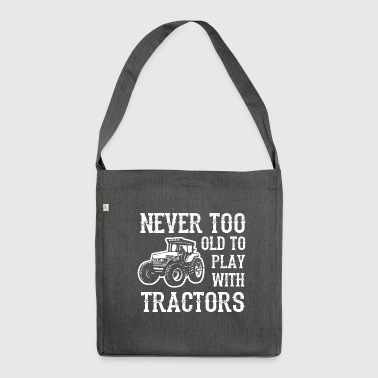 tractors - Shoulder Bag made from recycled material