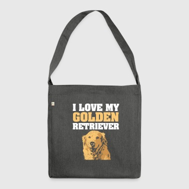 golden - Shoulder Bag made from recycled material