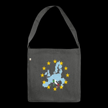 EU Italia (EU Italy) - Shoulder Bag made from recycled material