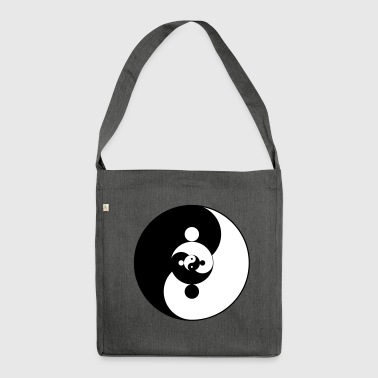 Yin Yang Yin Yang - Shoulder Bag made from recycled material
