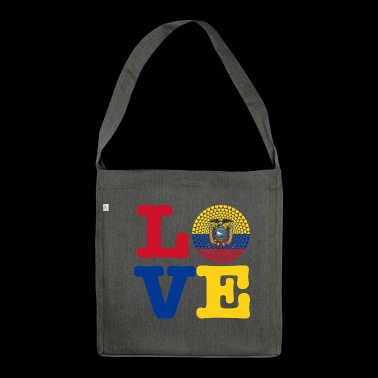 ECUADOR HEART - Shoulder Bag made from recycled material