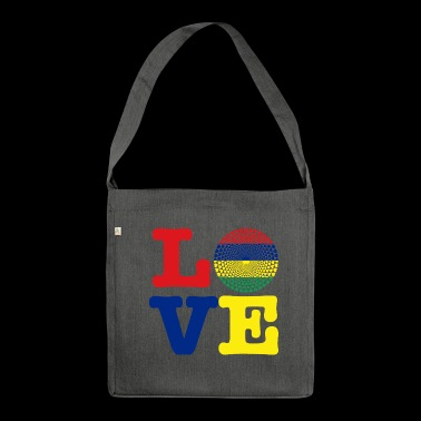 MAURITIUS HEART - Shoulder Bag made from recycled material