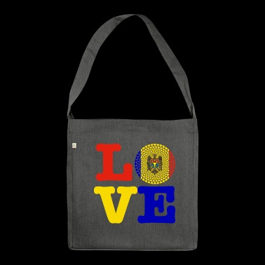 MOLDOVA HEART - Shoulder Bag made from recycled material