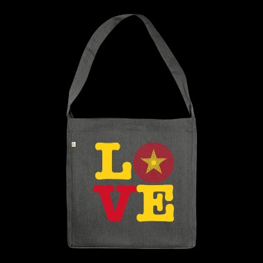 VIETNAM HEART - Shoulder Bag made from recycled material
