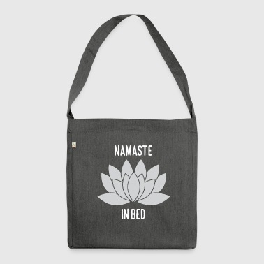 NAMASTE IN BED - Shoulder Bag made from recycled material