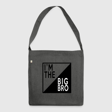 BIG BROTHER - Shoulder Bag made from recycled material