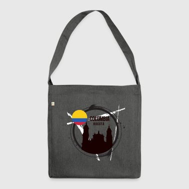 Bogota Colombia - Shoulder Bag made from recycled material