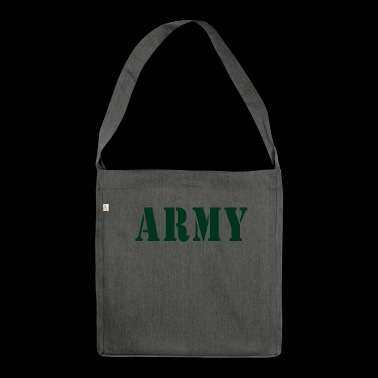 ARMY - Schultertasche aus Recycling-Material