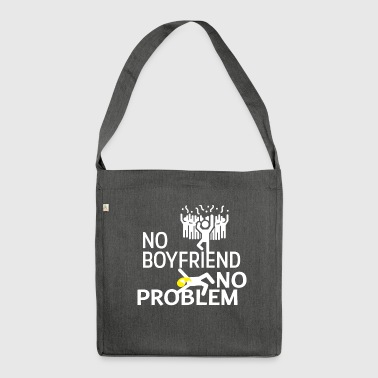 No boyfriend - Shoulder Bag made from recycled material