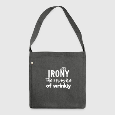 Irony - Shoulder Bag made from recycled material