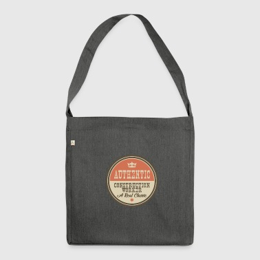 AUTHENTIC CONTSRUCTION WORKER - CONSTRUCTION WORKER - Shoulder Bag made from recycled material