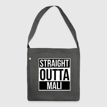 Straight Outta Straight Outta Mali! | Bestes Land - Schultertasche aus Recycling-Material
