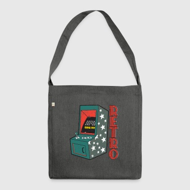 Retro Video Game Machine Games - Shoulder Bag made from recycled material