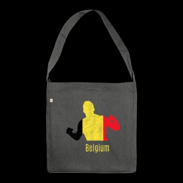 Soccer WC Belgium Vintage WC Soccer - Shoulder Bag made from recycled material