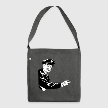 Policeman - Shoulder Bag made from recycled material
