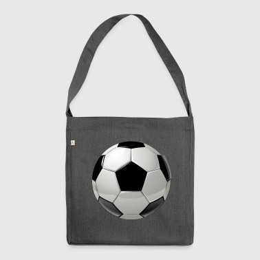 Soccer ball - Shoulder Bag made from recycled material