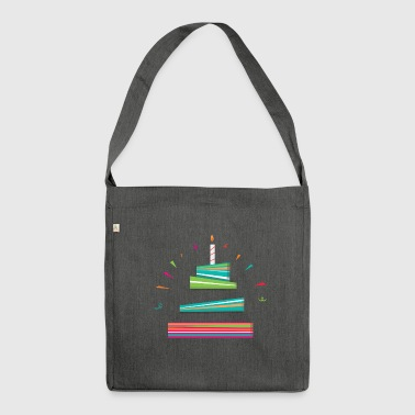 Birthdays - Shoulder Bag made from recycled material