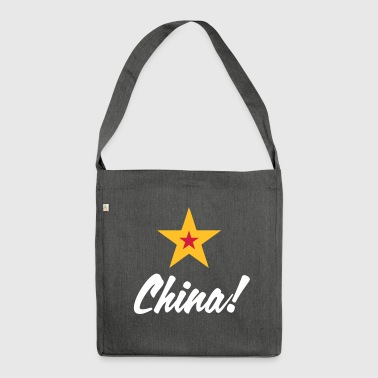 Communist China - Shoulder Bag made from recycled material