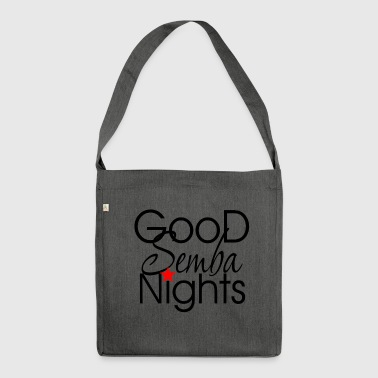 Good Semba Nights - Dance Shirts - Shoulder Bag made from recycled material