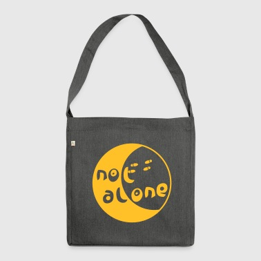 alone - Shoulder Bag made from recycled material