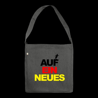 European Championship on a new world champion football Germany - Shoulder Bag made from recycled material