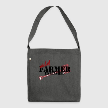 Farmer / Farmer / Farmer: Farmer Wild Unleashed - Shoulder Bag made from recycled material