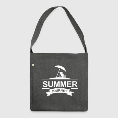 Summer Journey - Shoulder Bag made from recycled material