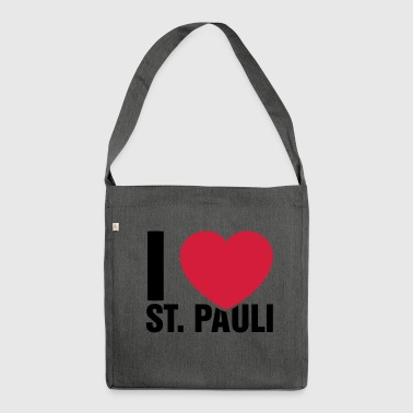 I love St Pauli! - Shoulder Bag made from recycled material