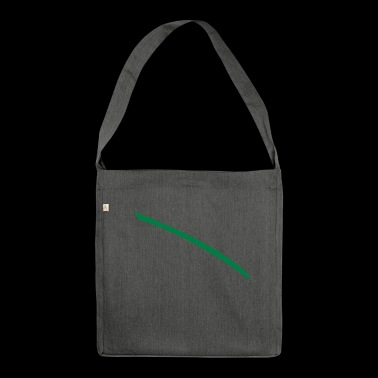 Dash green - Shoulder Bag made from recycled material