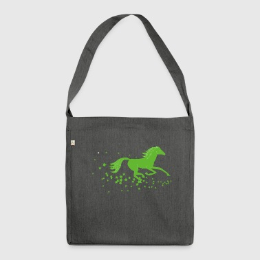 Horse, stallion, foal, mare - Shoulder Bag made from recycled material