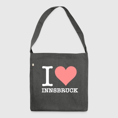 I Love Innsbruck - Shoulder Bag made from recycled material
