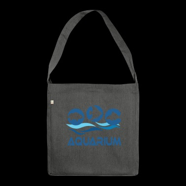 Aquarium - Shoulder Bag made from recycled material