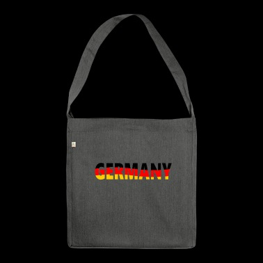 Germany, Germany - Shoulder Bag made from recycled material