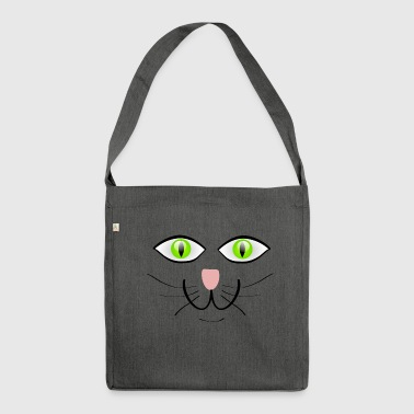 cats eyes - Shoulder Bag made from recycled material