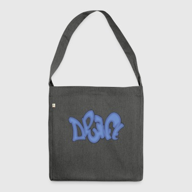 drift graffiti - Shoulder Bag made from recycled material
