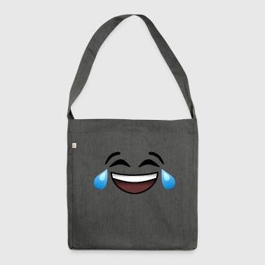 Tears of laughter - Shoulder Bag made from recycled material