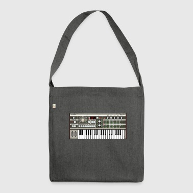 Micro Synthesizer mkIII #TTNM - Shoulder Bag made from recycled material