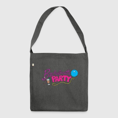 Bachelorette Party - Shoulder Bag made from recycled material