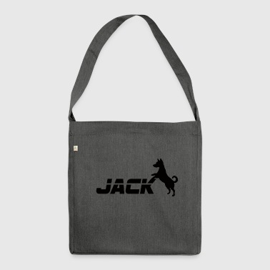 Dog / Jack Russell: Jack - Shoulder Bag made from recycled material