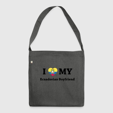 ecuador live - Shoulder Bag made from recycled material