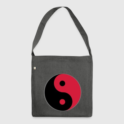 Yin and yang - Shoulder Bag made from recycled material