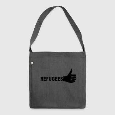 Refugees - Shoulder Bag made from recycled material