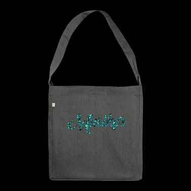 Musician Patterned Pattern Music Love - Shoulder Bag made from recycled material