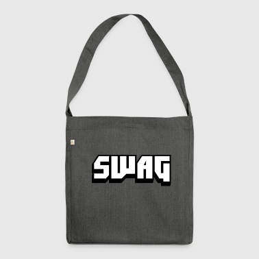 SWAG Black and White - Shoulder Bag made from recycled material