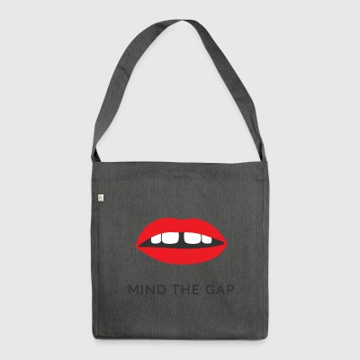 Mind the gap - Shoulder Bag made from recycled material