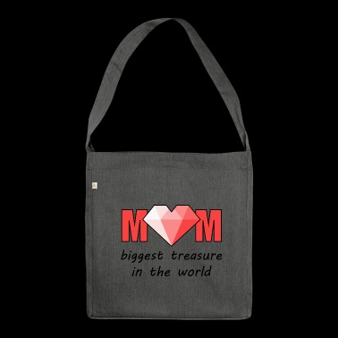 Biggest Treasure - Shoulder Bag made from recycled material