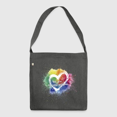 Little Rainbow T-Shirt - Shoulder Bag made from recycled material