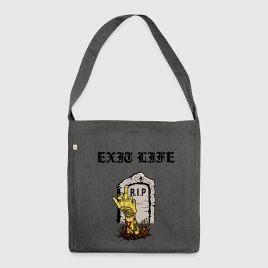 Darkover Ink - The Grave - Shoulder Bag made from recycled material